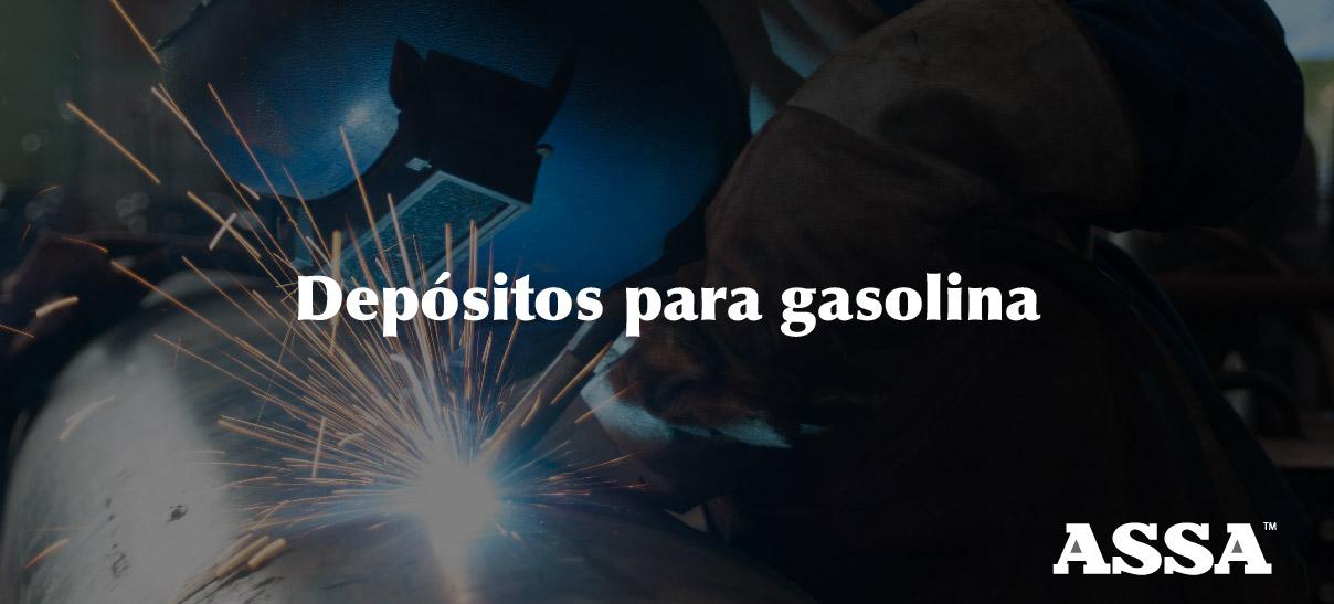 Depósitos para gasolina