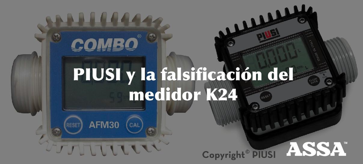 PIUSI y la falsificación del medidor K24