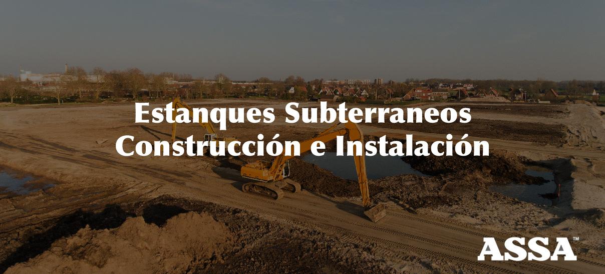 Estanques Subterráneos en Chile, construcción e instalación