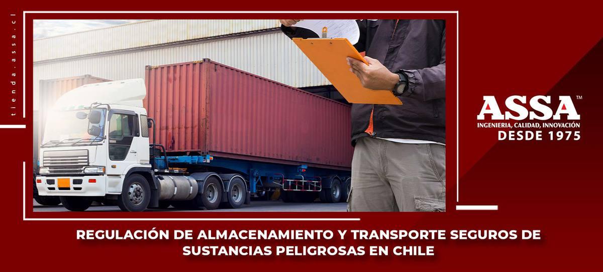 Estanques, regulación de almacenamiento y transporte de sustancias peligrosas en Chile