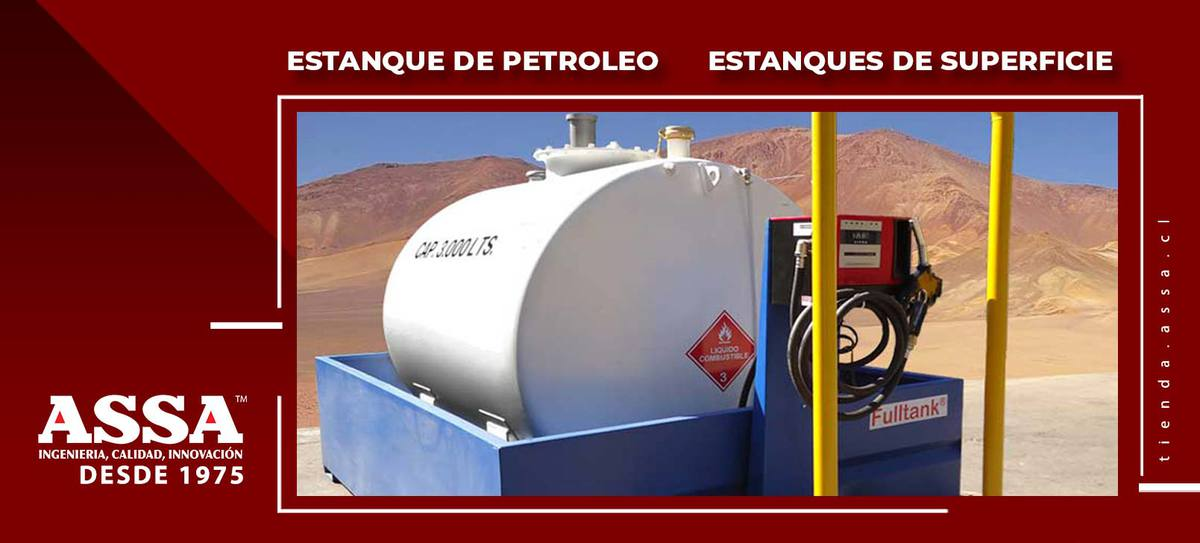 Estanques de Petróleo Estanques de Superficie