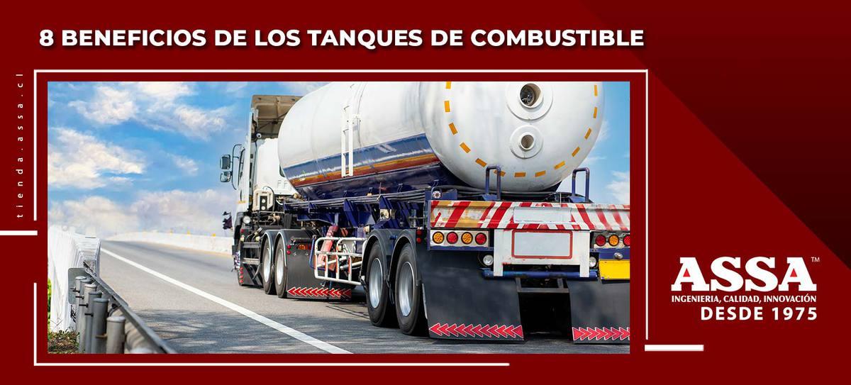 8 Beneficios de los tanques de combustible