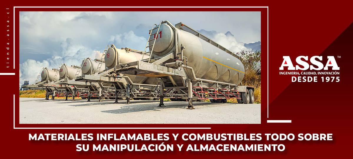 Materiales Inflamables y Combustibles Todo Sobre su Manipulación y Almacenamiento