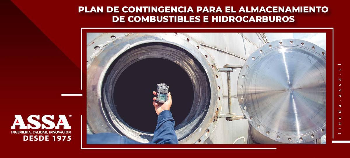 Plan de contingencia para el almacenamiento de combustibles e hidrocarburos